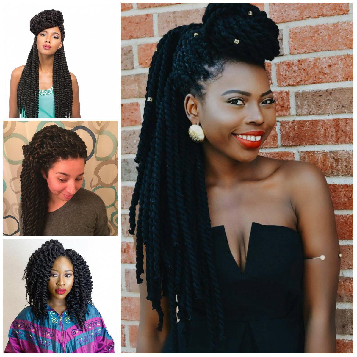 Wunderschöne senegalesische Twist Styles für Beste Frisur