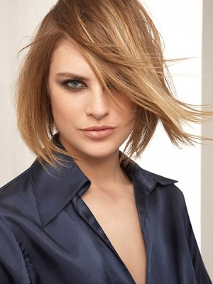 Blondes Haar Highlights Ideen
