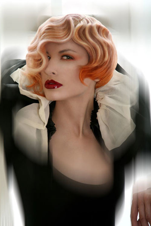 Retro Finger Wave Frisuren Neu