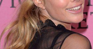 Tag zu Nacht Frisur-Tutorial: Doutzen Kroes 'wellig Pferdeschwanz