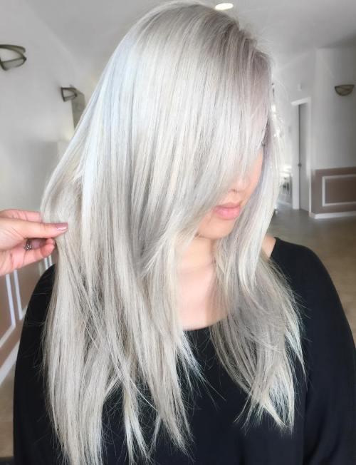 30 besten Frisuren und Haarschnitte für langes glattes Haar