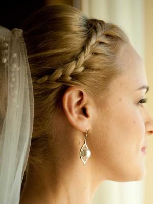 Neu geflochtene Frisuren für Hochzeit
