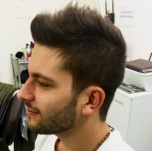 Fälschen Sie es, bis Sie es machen: Die 40 heißesten Faux Hawk Haircuts für Männer