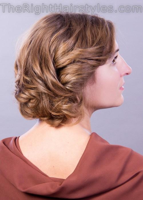 How To: Voluminöse lockige Frisur für kurze feine Haare