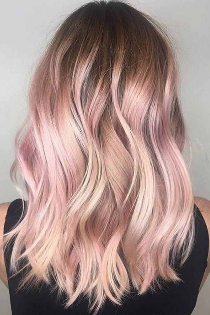 20 Rose Gold Haarfarbe Ideen für Frauen