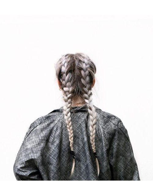 Faule Winterfrisuren für Beste Frisur