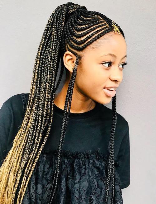 20 erstaunliche Fulani Zöpfe für Frauen aller Altersstufen