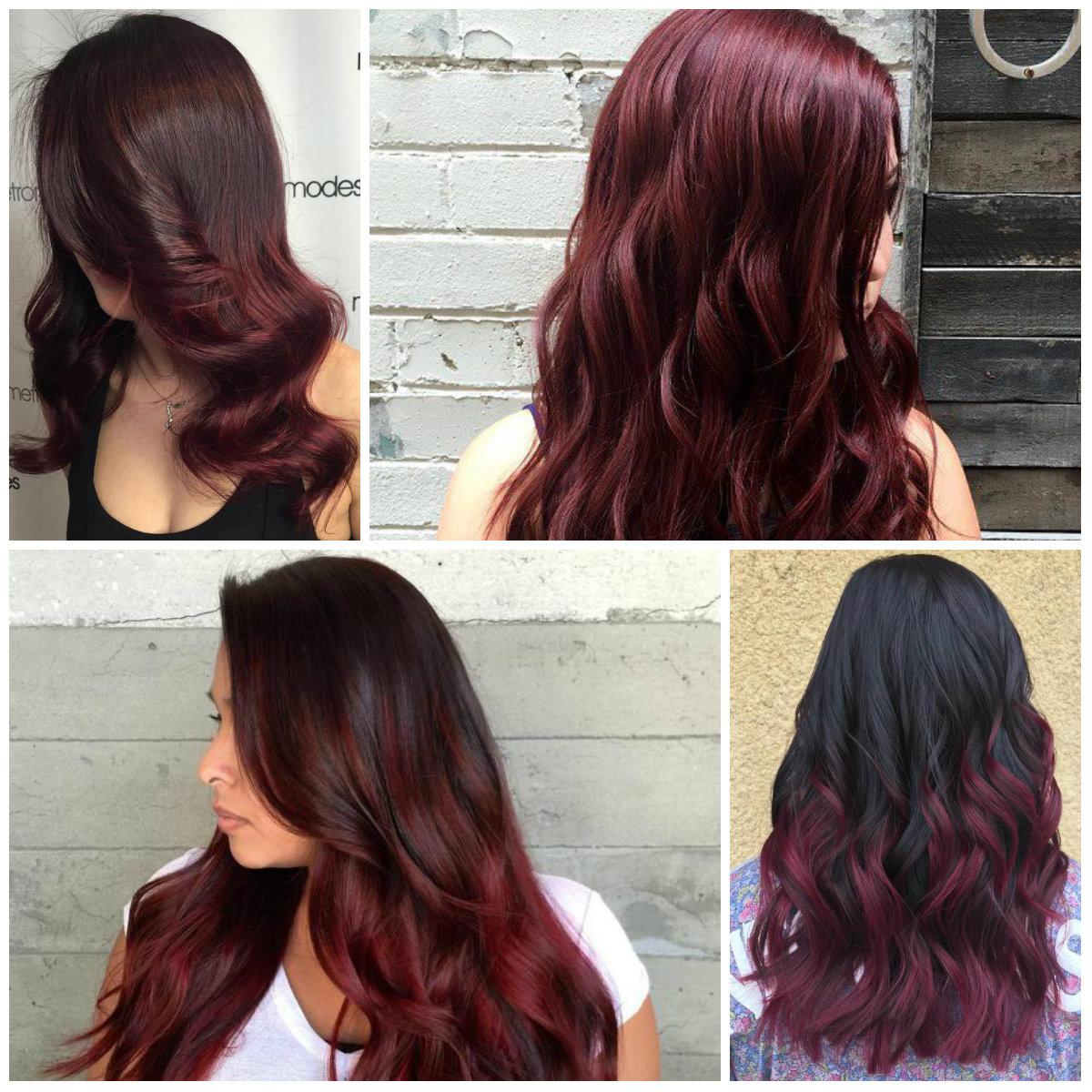 Top Burgundy Hair Farben für 2018
