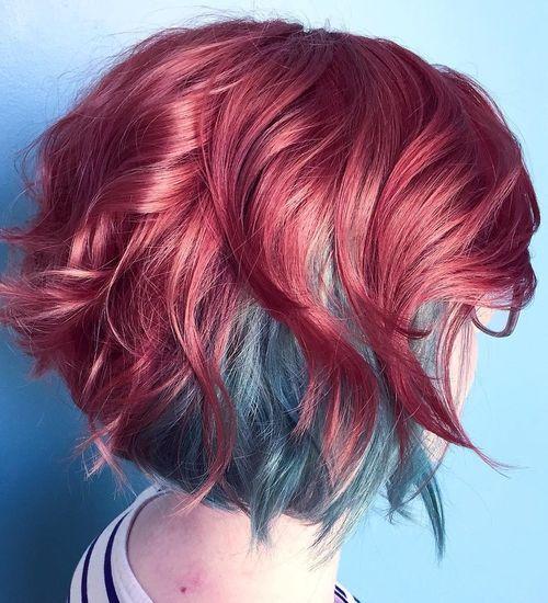 20 frische Teal Haarfarbe Ideen für Blondinen und Brünetten