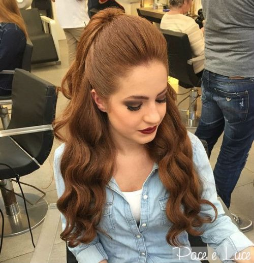 40 einfache und schicke halbe Pferdeschwänze für glattes, gewelltes und lockiges Haar