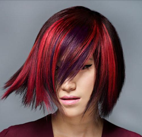 Edgy Hair Highlights im Jahr Neu zu versuchen