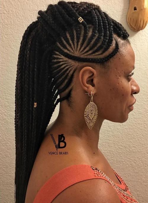 Zöpfe mit Perlen: Frisuren für einen schönen und authentischen Look