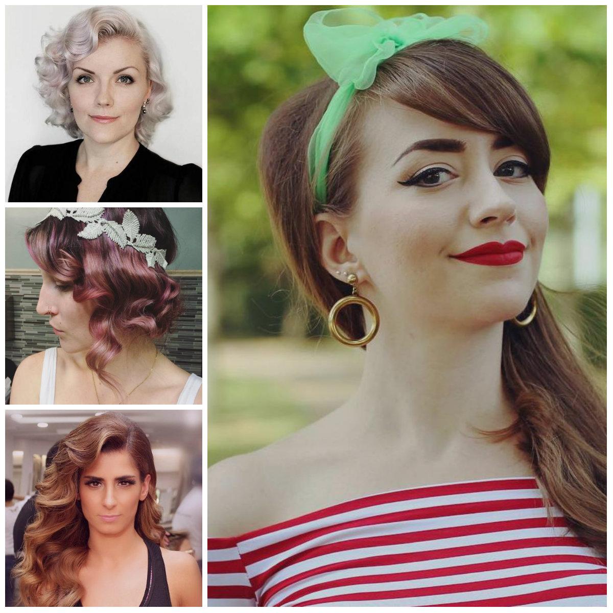 Iconic Retro inspirierte Frisuren für Beste Frisur