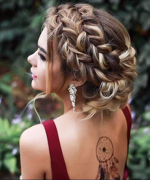 Französische Braid Frisuren für Beste Frisur