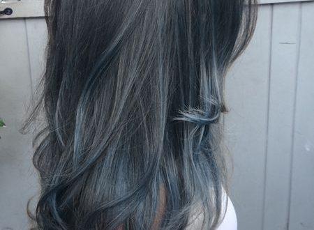 Dramatische Höhepunkte für Brunette-Haar Neu