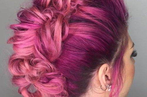 Geflochtene Mohawk Frisuren für Frauen