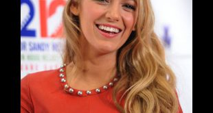 Blake Lively Hair tutorial: Halbwellen