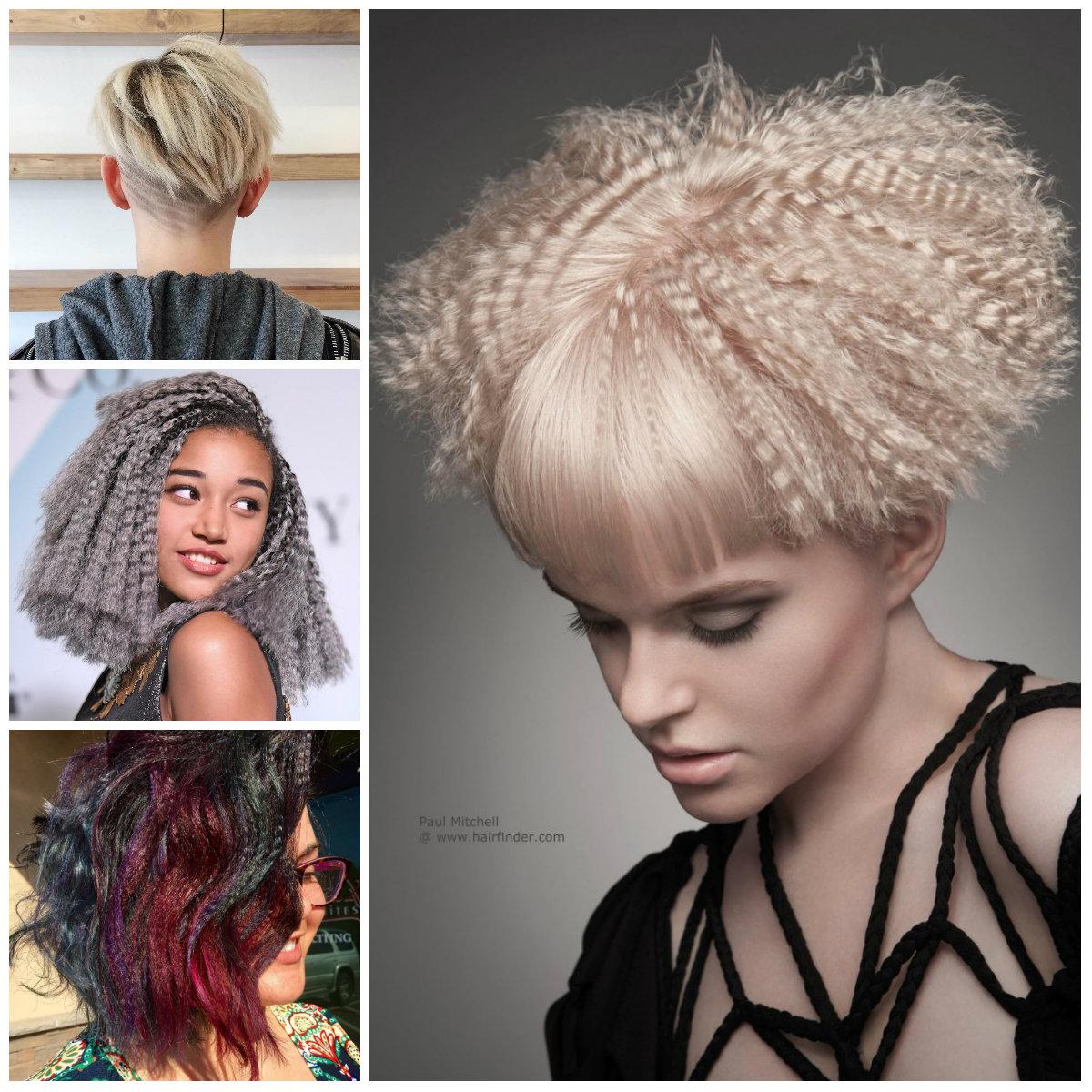 Gekräuselte Frisuren für kurze Haare für Beste Frisur