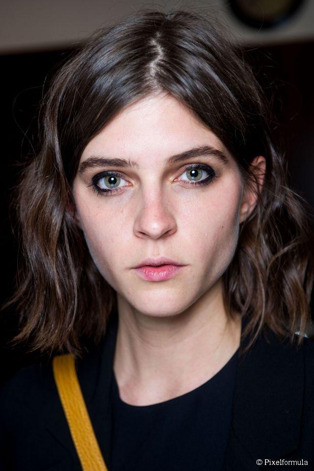 Mittellanges welliges Haar: Fotogalerie