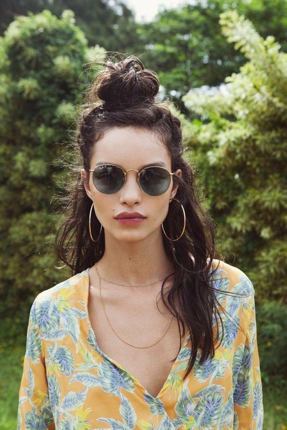 30 böhmische Frisuren für Frauen anders aussehen und blendend