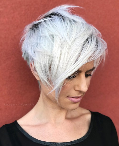 60 überwältigende Ideen für kurze abgehackte Haarschnitte