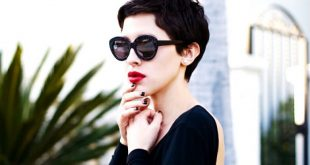 6 süße und modische Curly Pixie Cut Looks