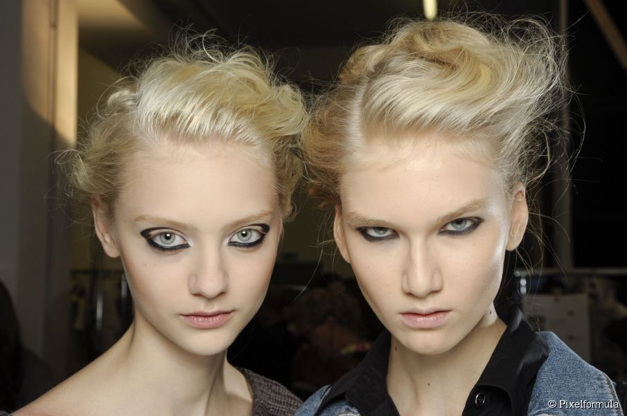 3 zerzauste Hochsteckfrisuren zum ausprobieren: leicht ungepflegte Frisuren