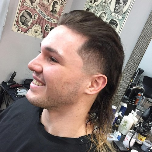 Mullet Haircuts: Party im Rücken, Business in der Front