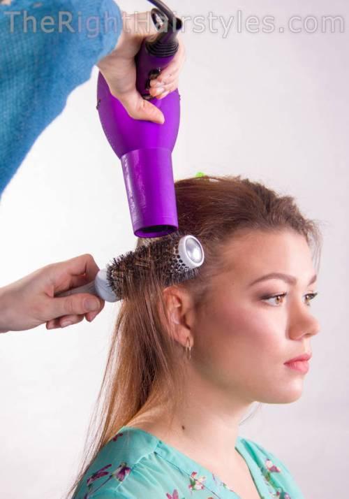 How To: Schöne Downdo mit einem Gesicht-Framing Lace Braid