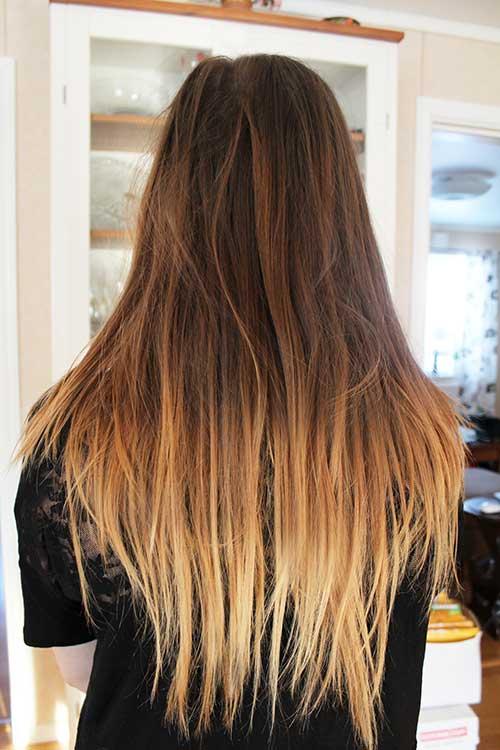 30 heißesten und brutzelnden Ombre Haarfarbe Ideen
