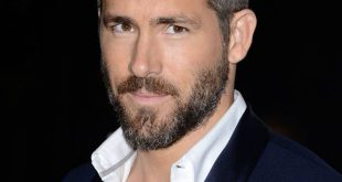 Männer Everyday Frisur: Ryan Reynolds 'Neat Blowback