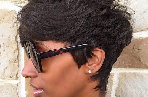 60 große kurze Frisuren für schwarze Frauen