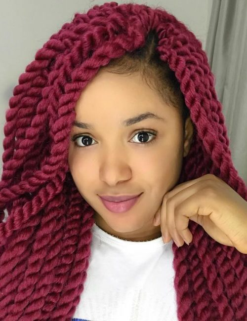 Neu Black Women's Schützende Frisuren