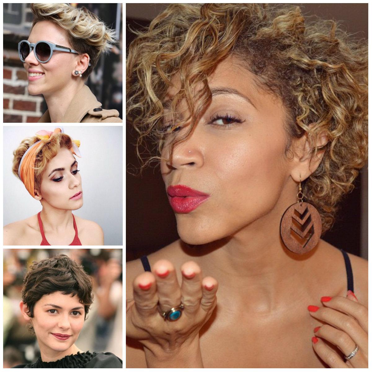 Curly Pixie Haarschnitte für Beste Frisur