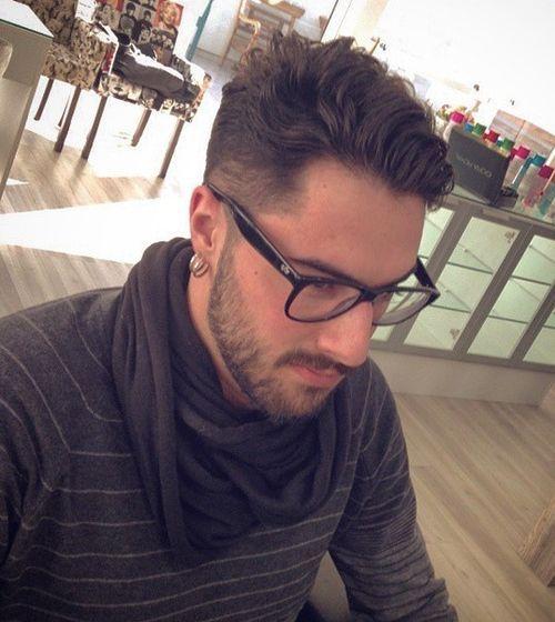 40 Ritzy rasierte Seiten Frisuren und Haarschnitte für Männer