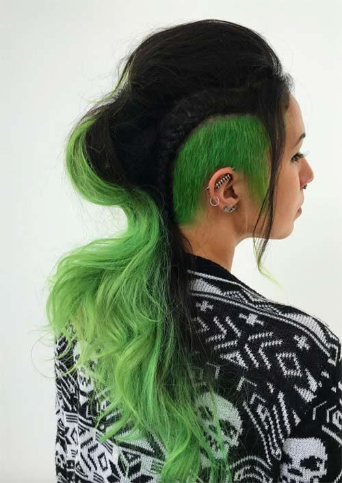 Bold Frisuren für mutige Damen im Jahr 2018