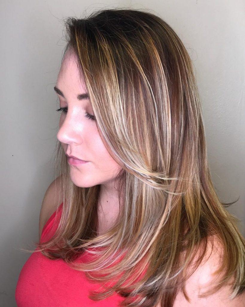 20 wert versuchen Frisuren mit Side Bangs für Frauen
