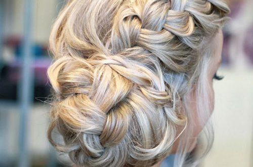 Schöne formale Frisuren für langes Haar Neu