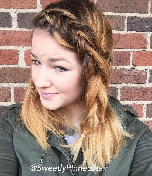 40 Awesome Jazzed Up Fishtail Braid Frisuren