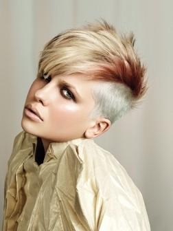 Pixie Mohawk Frisuren Kurze