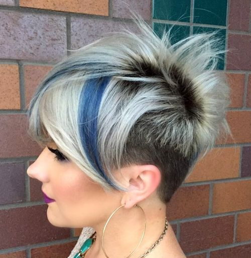 20 Edgy Ways to Jazz Ihr kurzes Haar mit Highlights