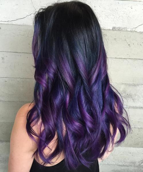 40 Haarfarbe Ideen, die perfekt auf Punkt sind