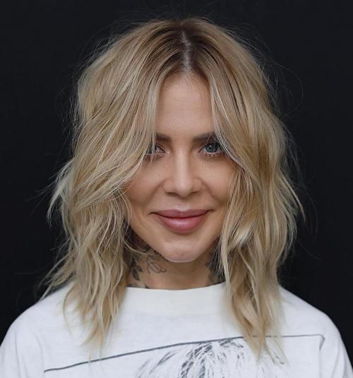 Beste Frisuren und Haarschnitte für herzförmige Gesichter