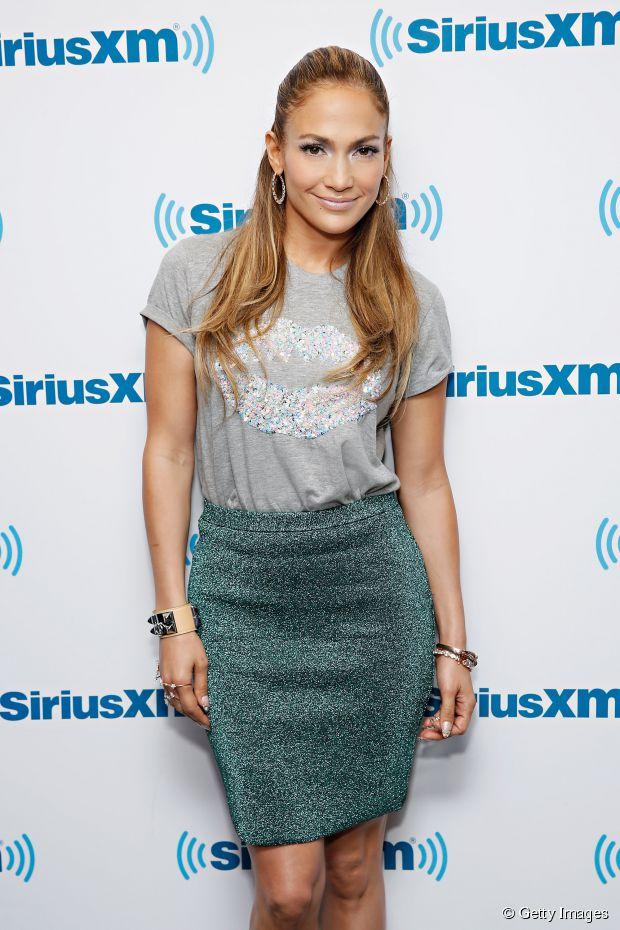 Jennifer Lopez-inspiriertes Half-Up-Hair-Tutorial