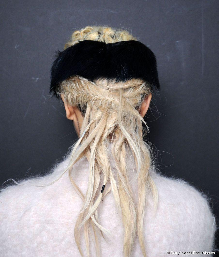 Zöpfe, die wie Dreads aussehen - willst du diesen Look der Fashion Week probieren?
