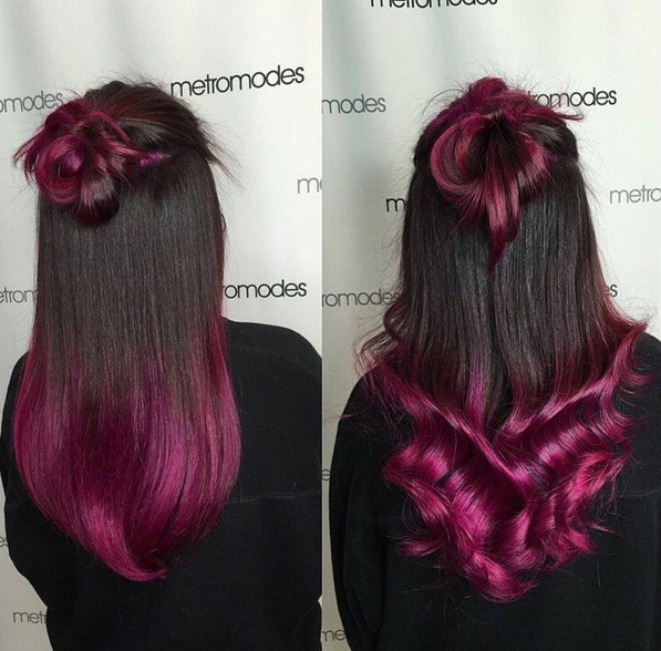 8 trendige 2-Ton-Frisuren mit hellen Farben