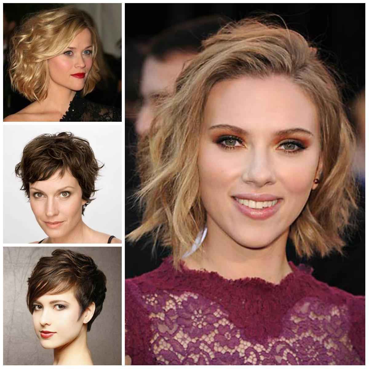 Short Chic Tousled Haarschnitte für Neu