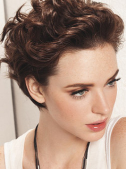 Kurze Up-do-Frisuren