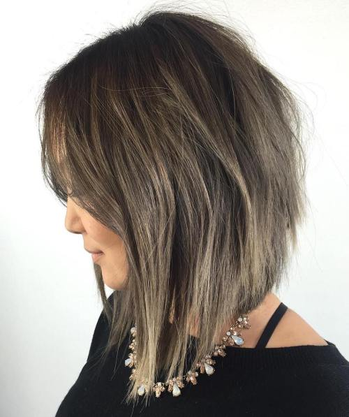 20 Inspirierende Long Layered Bob Frisuren