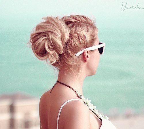 35 Braided Buns Neu erfinden den klassischen Stil